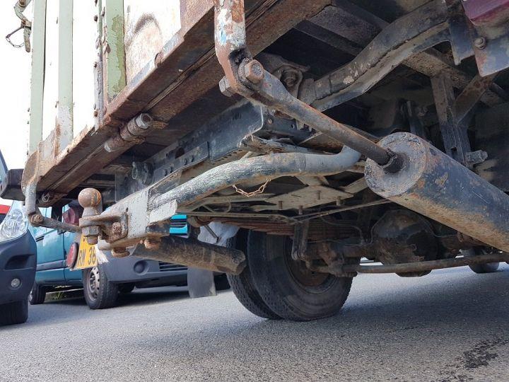 Vehiculo comercial Mercedes Vario Transporte de ganado L 406 D BLANC - GRIS - 13