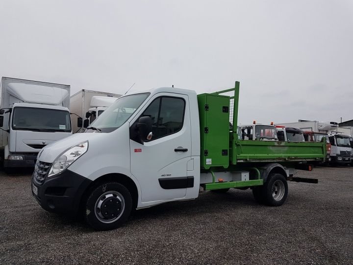 Vehiculo comercial Renault Master Volquete trasero 150dci.35 PMJ - BENNE + COFFRE BLANC - VERT - 1