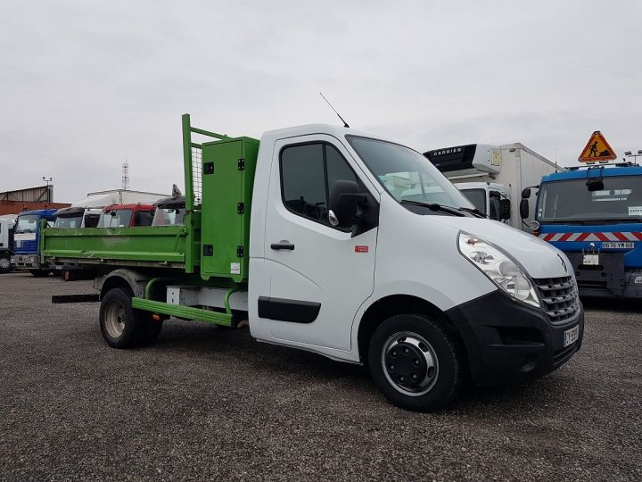 Vehiculo comercial Renault Master Volquete trasero 150dci.35 PMJ - BENNE + COFFRE BLANC - VERT - 5