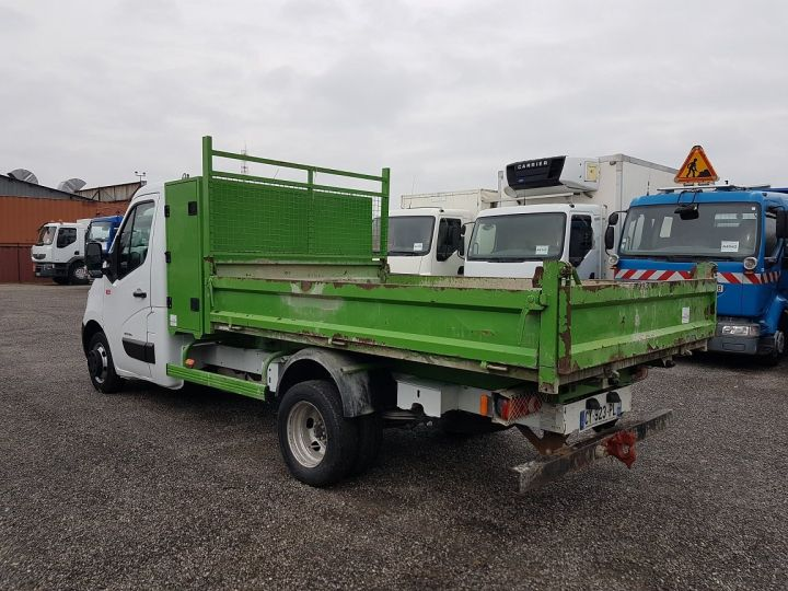 Vehiculo comercial Renault Master Volquete trasero 150dci.35 PMJ - BENNE + COFFRE BLANC - VERT - 6