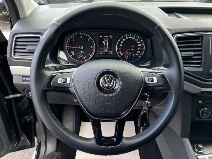 Volkswagen Amarok 3.0 V6 TDI 224ch 4MOTION CARAT BVA8 NOIR - 20
