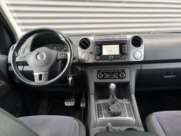 Volkswagen Amarok DOUBLE CAB TDI 180 4 MOTION BVA Bleu Foncé Métallisé Occasion - 5