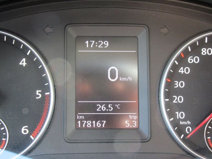 Volkswagen Caddy 1.6 TDI 102CH BLUEMOTION FAP CONFORTLINE Gris Fonce Occasion - 20