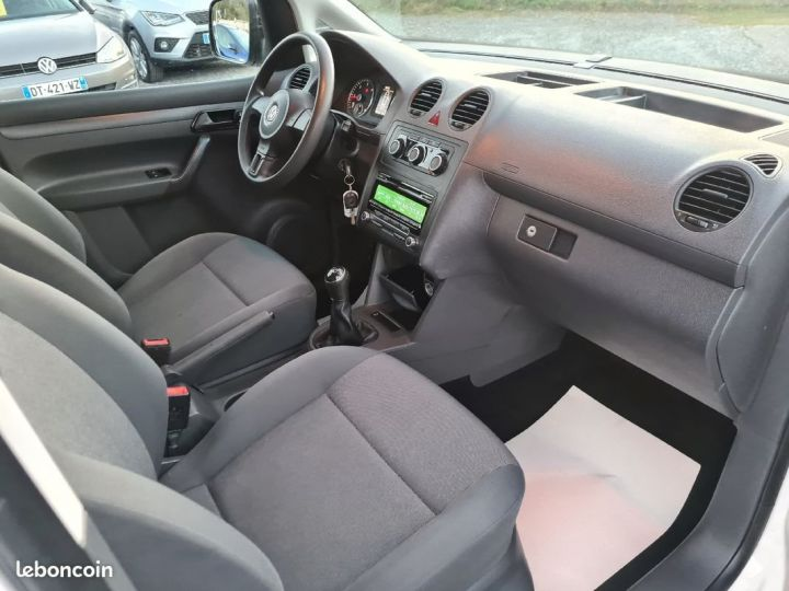 Volkswagen Caddy 1.6 tdi 75 trendline 02/2015 1°MAIN TVA RECUPERABLE CLIM REGULATEUR  - 4