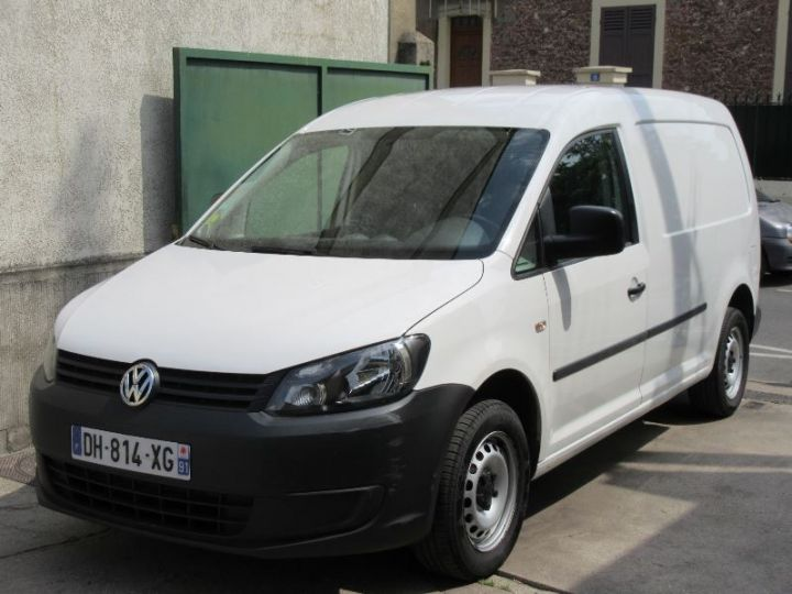 Volkswagen Caddy MAXI 1.6 TDI 102CH BUSINESS LINE BLANC Occasion - 1