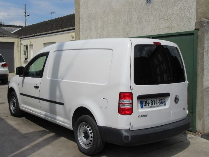 Volkswagen Caddy MAXI 1.6 TDI 102CH BUSINESS LINE BLANC Occasion - 3