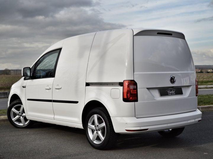 Volkswagen Caddy VW CADDY 2.0 TDI 102CH 1ère main PARK ASSIST CLIM RADAR CAMERA DISCOVER EXCELLENT ÉTAT TVA RÈCUP BLANC - 6
