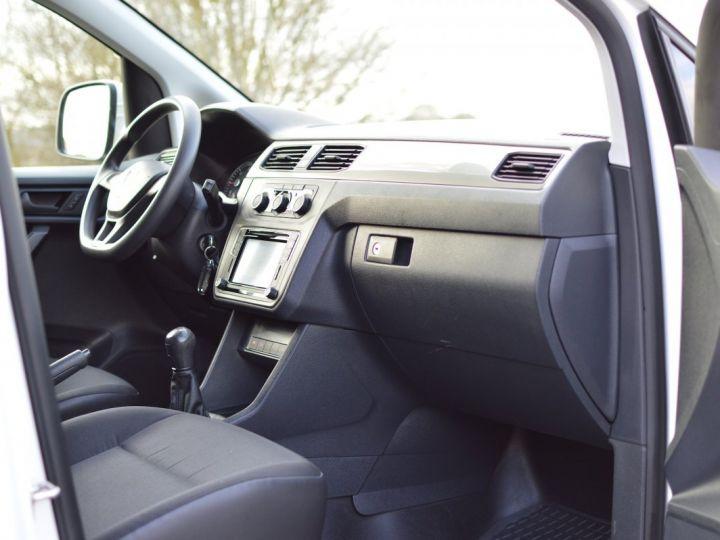 Volkswagen Caddy VW CADDY 2.0 TDI 102CH 1ère main PARK ASSIST CLIM RADAR CAMERA DISCOVER EXCELLENT ÉTAT TVA RÈCUP BLANC - 13