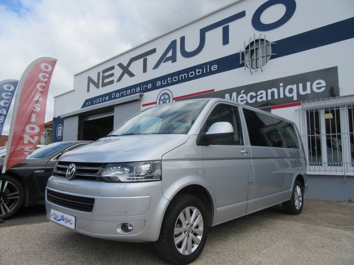 Volkswagen Caravelle 2.0 TDI 180CH BLUEMOTION TECHNOLOGY FAP CONFORTLINE DSG7 LONG Gris Clair Occasion - 1
