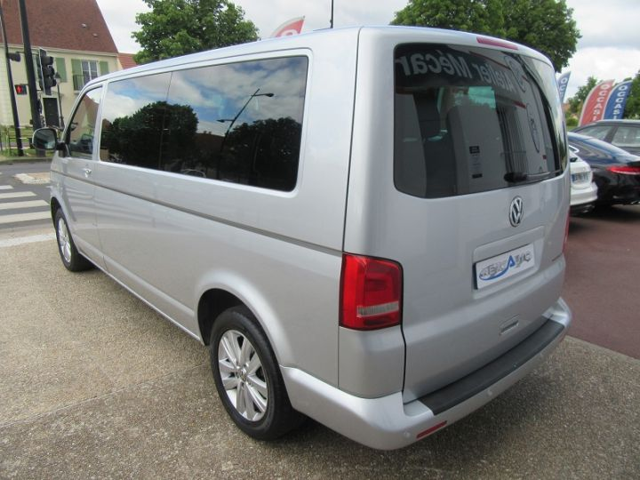 Volkswagen Caravelle 2.0 TDI 180CH BLUEMOTION TECHNOLOGY FAP CONFORTLINE DSG7 LONG Gris Clair Occasion - 3