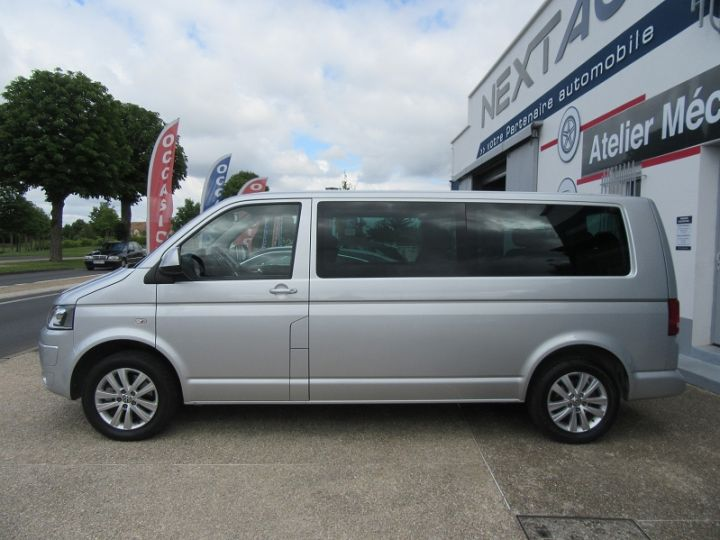 Volkswagen Caravelle 2.0 TDI 180CH BLUEMOTION TECHNOLOGY FAP CONFORTLINE DSG7 LONG Gris Clair Occasion - 5