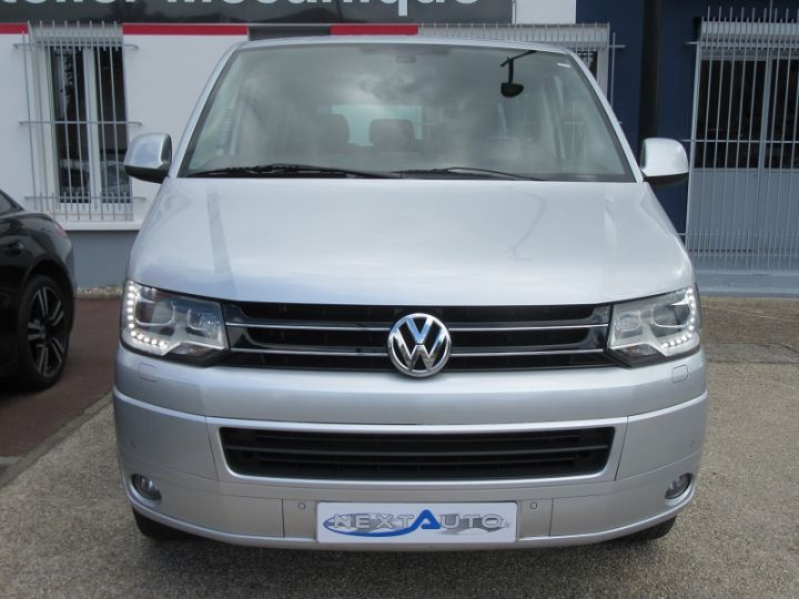 Volkswagen Caravelle 2.0 TDI 180CH BLUEMOTION TECHNOLOGY FAP CONFORTLINE DSG7 LONG Gris Clair Occasion - 6