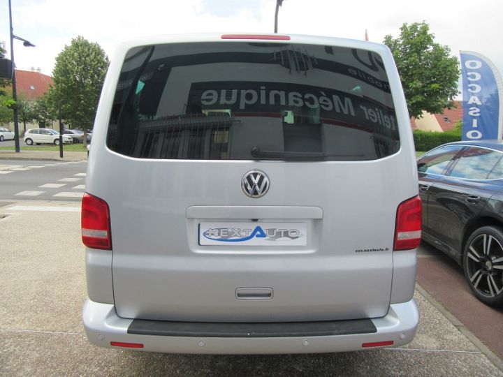 Volkswagen Caravelle 2.0 TDI 180CH BLUEMOTION TECHNOLOGY FAP CONFORTLINE DSG7 LONG Gris Clair Occasion - 7