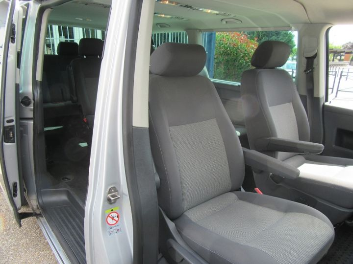 Volkswagen Caravelle 2.0 TDI 180CH BLUEMOTION TECHNOLOGY FAP CONFORTLINE DSG7 LONG Gris Clair Occasion - 20