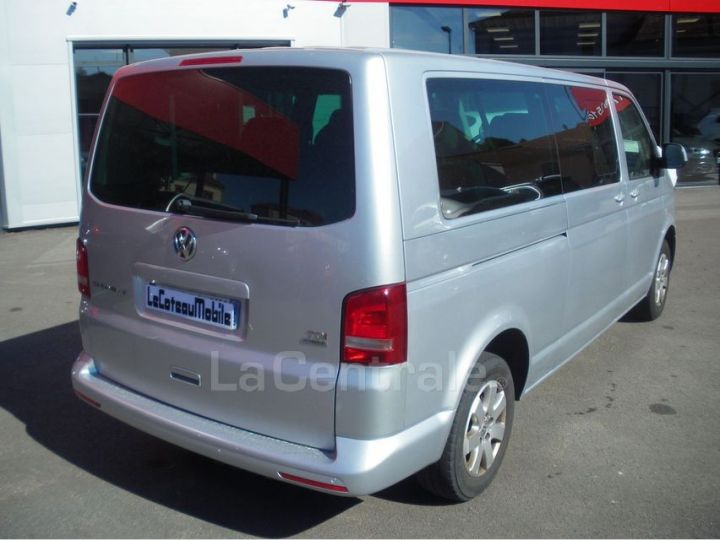 Volkswagen Caravelle MINIBUS LONG 2.0 TDI 140 BLUEMOTION TECHNOLOGY CONFORTLINE Gris Clair Metal - 3