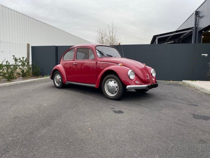 Volkswagen Coccinelle ROUGE - 1