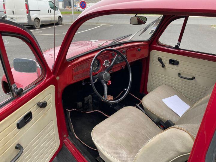 Volkswagen Coccinelle ROUGE - 7