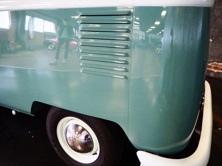 Volkswagen Combi Volkswagen combi T1 split vert et blanc - 5