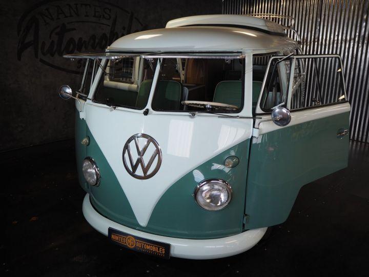 Volkswagen Combi Volkswagen combi T1 split vert et blanc - 8