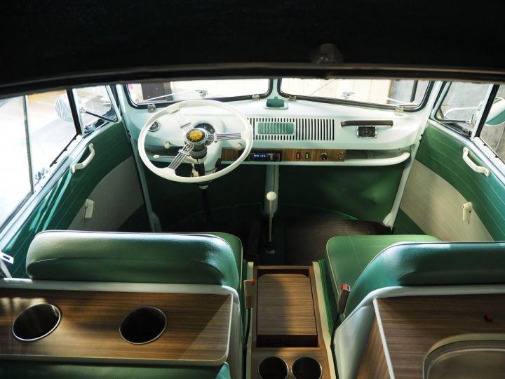 Volkswagen Combi Volkswagen combi T1 split vert et blanc - 15