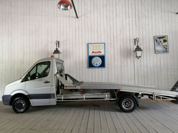 Volkswagen Crafter DEPANNEUSE + PLATEAU DOUBLE ESSIEU Blanc - 1