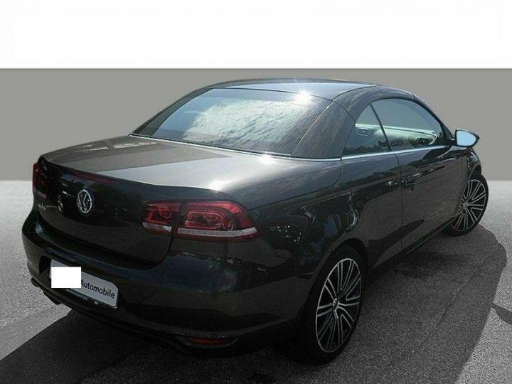 Volkswagen EOS 2.0 TDI 140 DSG  BlueMotion Exclusive Brun Jatoba métal - 2