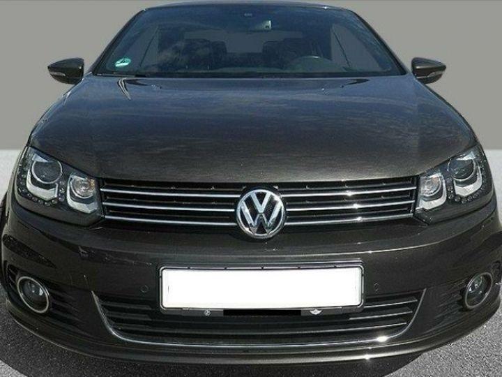 Volkswagen EOS 2.0 TDI 140 DSG  BlueMotion Exclusive Brun Jatoba métal - 5