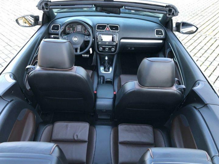 Volkswagen EOS 2.0  TDI 140 DSG CARAT Brun Carbone métal - 10