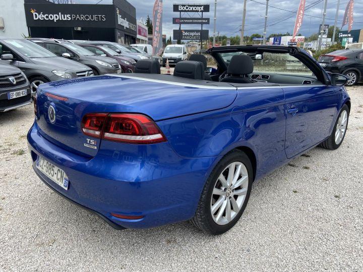 Volkswagen EOS TECHNOL SPORTLINE  BLEU MÉTAL  Occasion - 4