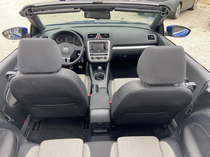Volkswagen EOS TECHNOL SPORTLINE  BLEU MÉTAL  Occasion - 5