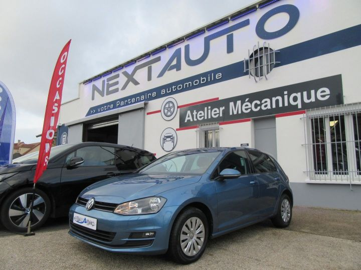 Volkswagen Golf 1.2 TSI 105CH BLUEMOTION TECHNOLOGY CONFORTLINE 5P Bleu Occasion - 1