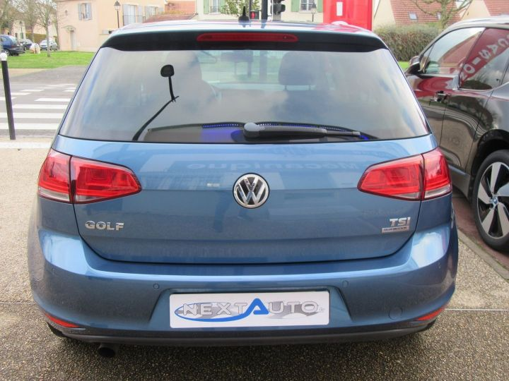 Volkswagen Golf 1.2 TSI 105CH BLUEMOTION TECHNOLOGY CONFORTLINE 5P Bleu Occasion - 7