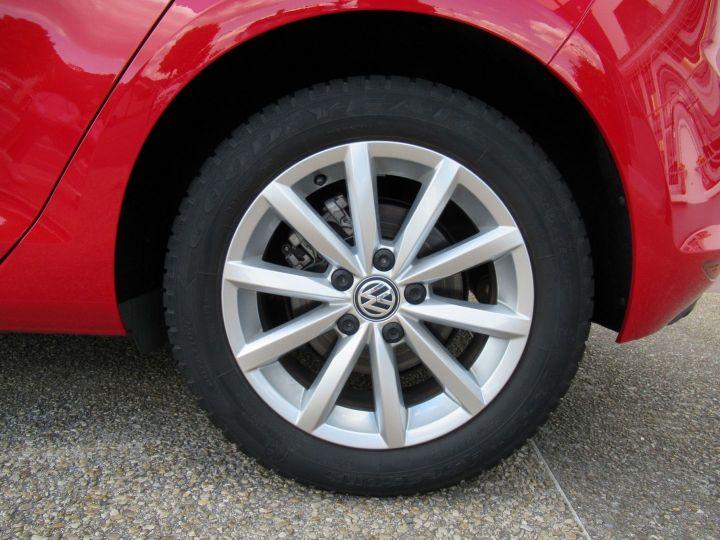 Volkswagen Golf 1.2 TSI 110CH BLUEMOTION TECHNOLOGY LOUNGE DSG7 5P Rouge - 7