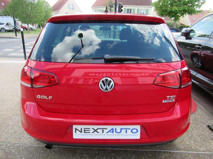 Volkswagen Golf 1.2 TSI 110CH BLUEMOTION TECHNOLOGY LOUNGE DSG7 5P Rouge - 9