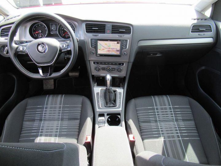Volkswagen Golf 1.2 TSI 110CH BLUEMOTION TECHNOLOGY LOUNGE DSG7 5P Rouge - 15