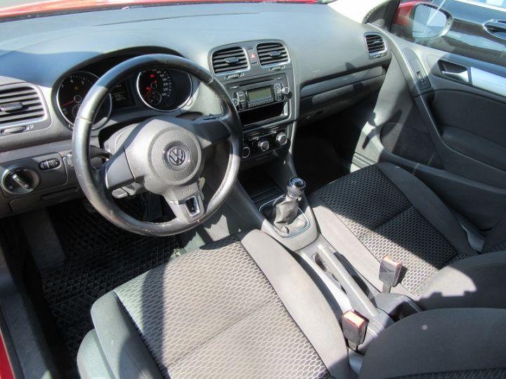 Volkswagen Golf 1.4 80CH TRENDLINE 5P Rouge Occasion - 2