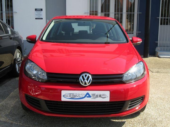 Volkswagen Golf 1.4 80CH TRENDLINE 5P Rouge Occasion - 7