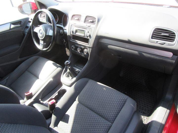 Volkswagen Golf 1.4 80CH TRENDLINE 5P Rouge Occasion - 17