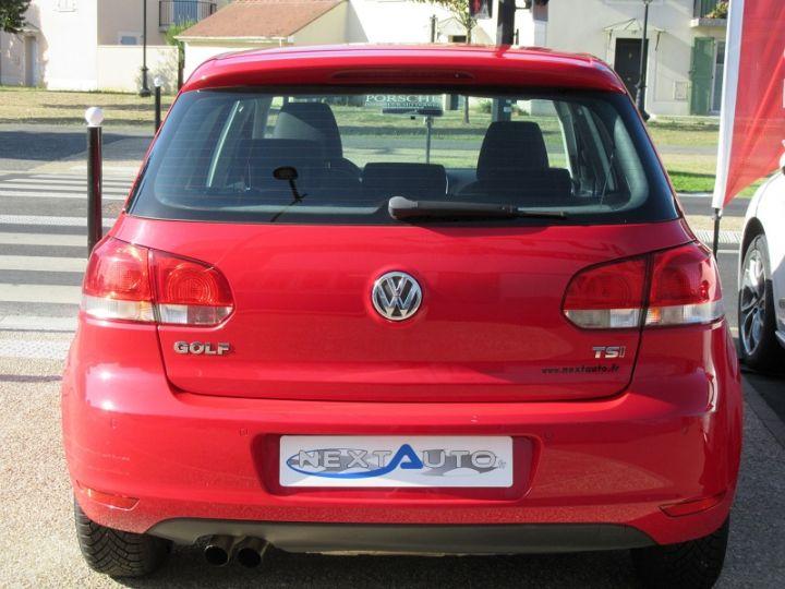 Volkswagen Golf 1.4 TSI 122CH TRENDLINE 5P ROUGE Occasion - 9