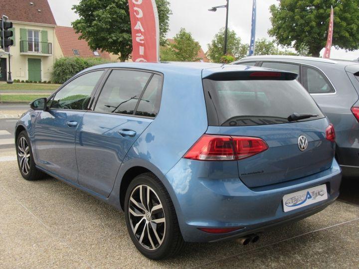 Volkswagen Golf 1.4 TSI 140CH HIGHLINE BLUEMOTION TECH Bleu Occasion - 3