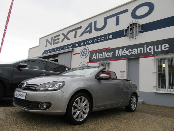 Volkswagen Golf 1.4 TSI 160CH EXCLUSIVE Gris Clair Occasion - 1