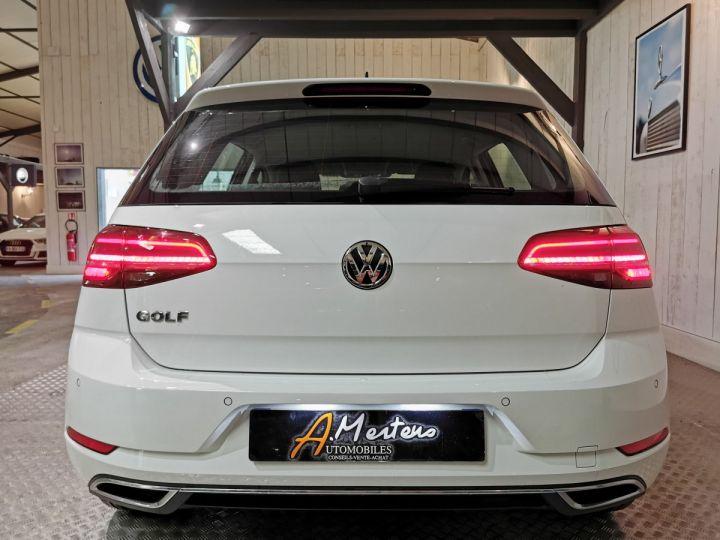 Volkswagen Golf 2.0 TDI 150 CV CARAT BV6 Blanc - 4