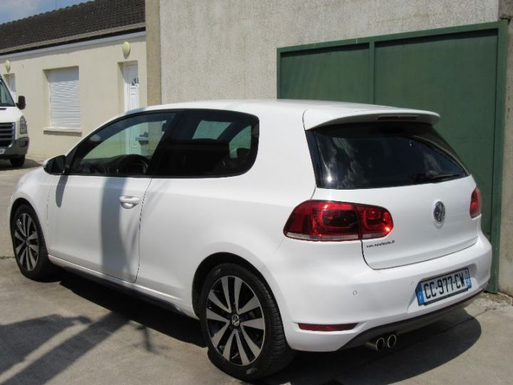 Volkswagen Golf 2.0 TDI 170CH FAP GTD 3P BLANC Occasion - 3