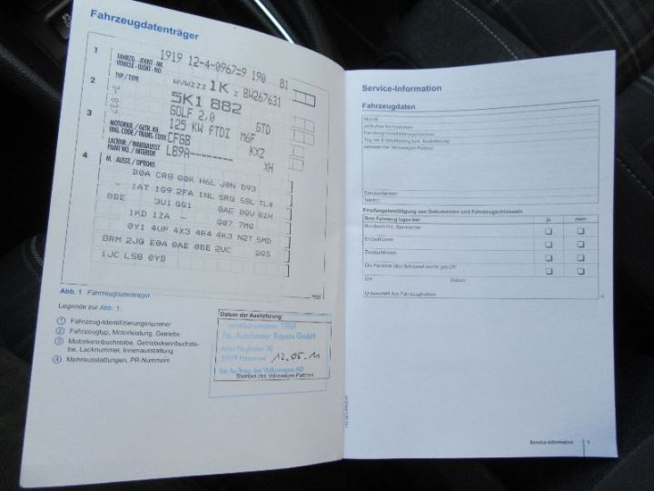 Volkswagen Golf 2.0 TDI 170CH FAP GTD 3P BLANC Occasion - 17