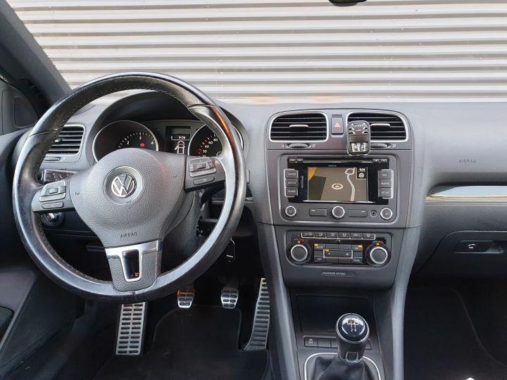 Volkswagen Golf 6 VI CABRIOLET 1.6 TDI 105 CARAT Gris Métallisé Occasion - 5