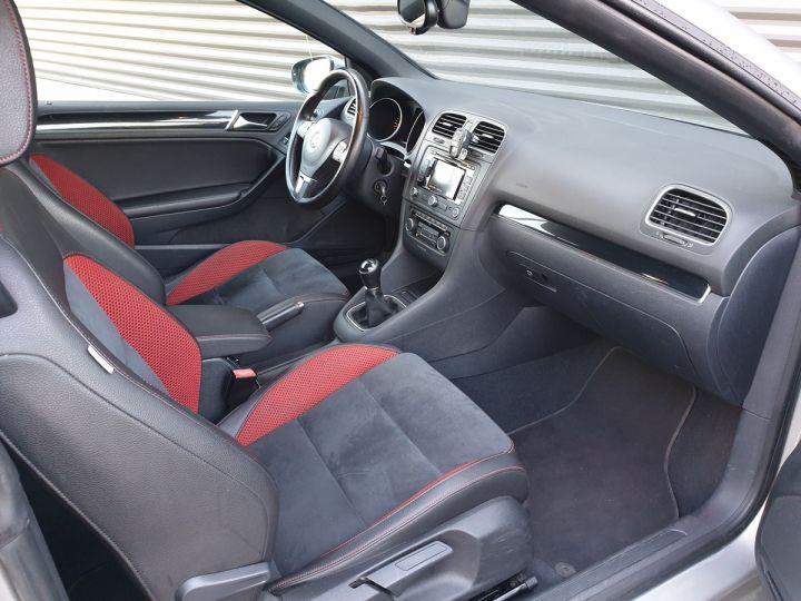 Volkswagen Golf 6 vi cabriolet 1.6 tdi 105 carat c Gris Occasion - 6