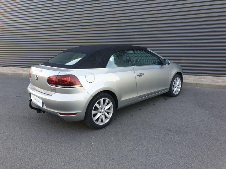 Volkswagen Golf 6 vi cabriolet 1.6 tdi 105 carat c Gris Occasion - 9