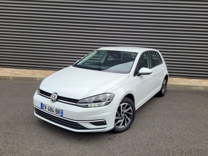 Volkswagen Golf 7 1.4 tsi 125 sound bv6 5p Blanc Occasion - 1