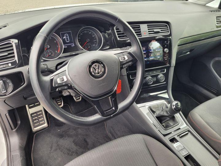 Volkswagen Golf 7 1.4 tsi 125 sound bv6 5p Blanc Occasion - 11
