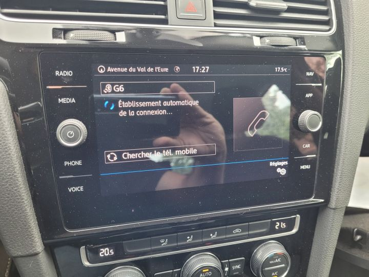 Volkswagen Golf 7 1.4 tsi 125 sound bv6 5p Blanc Occasion - 12